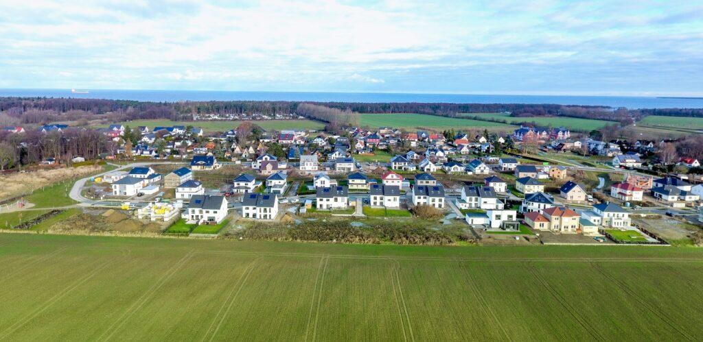 Am Golfplatz Diedrichshagen Luftaufnahme vom 12.12.2016