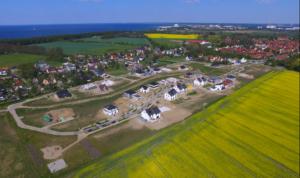 Luftaufnahme Diedrichshagen mit Blick auf Ostsee