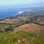 """Projektentwicklung Wohnalage """"Am Golfplatz"""" Warnemünde / Diedrichshagen mit Blick auf die Ostsee und Warnemünde"""